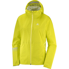 Salomon Lightning WP Running Jacket Women yellow